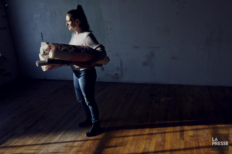 Pâtissière de profession, touche-à-tout en général, Audrey Fortin... (Photo Olivier Jean, La Presse)
