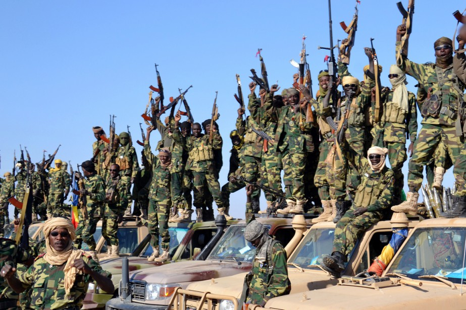 Le Tchad, mobilisé depuis deux semaines contre les... (PHOTO AFP/MARLE)