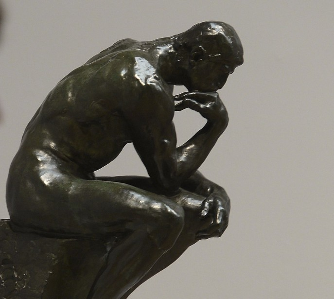 Le Penseur de Rodin.... (Photo Emmanuel Dunand, archives Agence France-Presse)