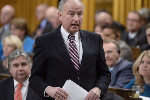 Le ministre de la Défense, Rob Nicholson.... (Photo Adrian Wyld, La Presse canadienne)