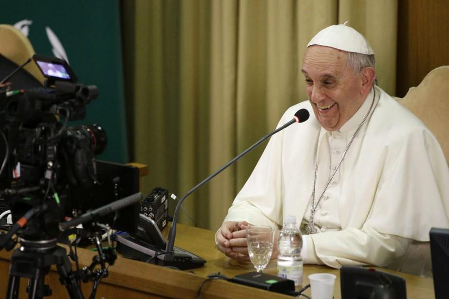 Le pape François doit se rendre entre le... (Photo Gregorio Borgia, Archives AP)