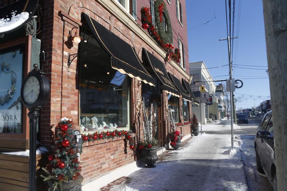 Après une séance de ski, pourquoi ne pas s'arrêter à Magog? La ville a différents commerces et activités qui méritent le détour. (Photo Martin Chamberland, La Presse)