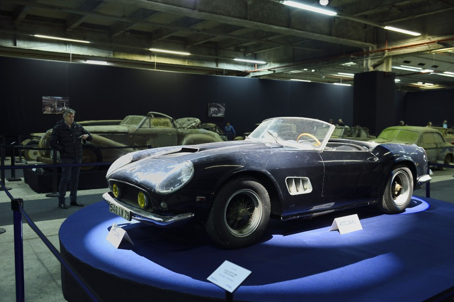 Ferrari 250 GT California Spider... (PHOTO ERIC FEFERBERG, AGENCE FRANCE-PRESSE)