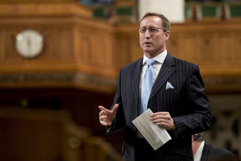 Le ministre fédéral de la Justice, Peter MacKay,s'est... (PHOTO ADRIAN WYLD, LA PRESSE CANADIENNE)