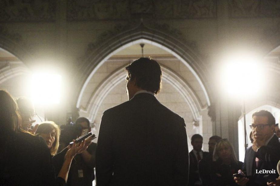 JustinTrudeau avance que dans les 90 jours précédant... (PHOTO ÉTIENNE RANGER, ARCHIVES LEDROIT)