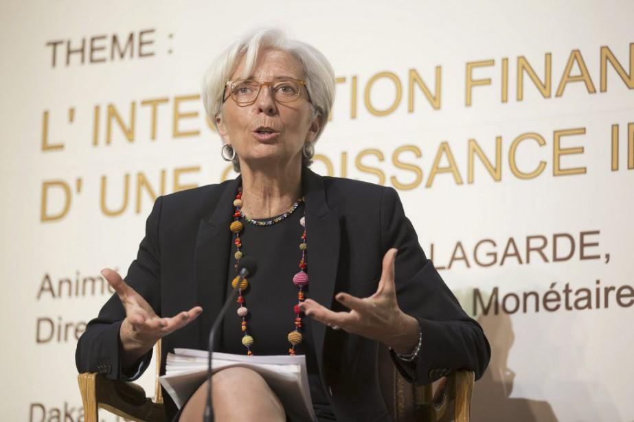 Christine Lagarde... (PHOTO STEPHEN JAFFE, ARCHIVES AFP)