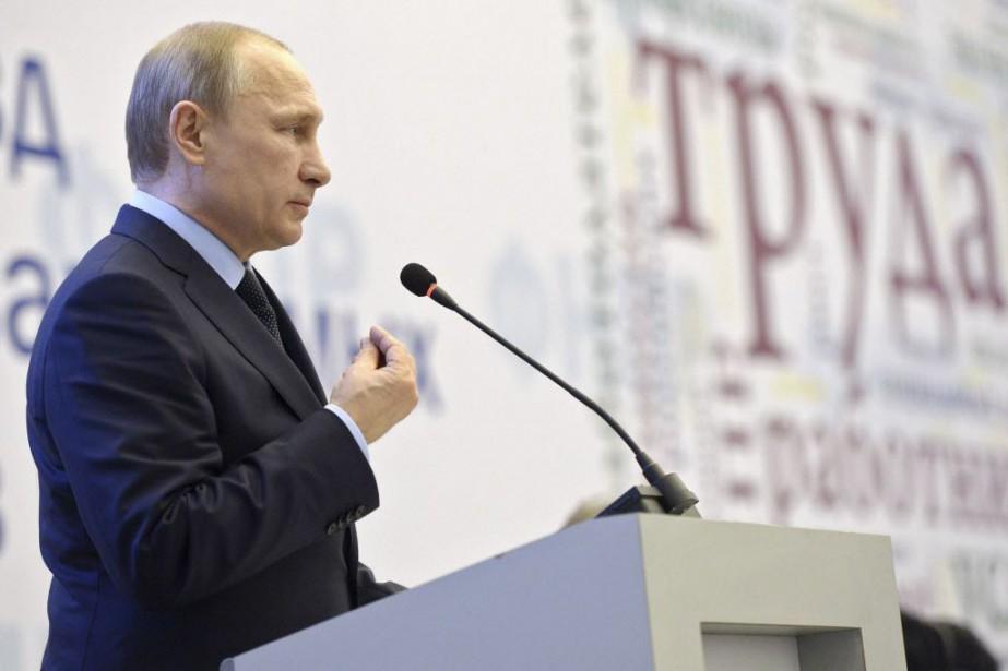 Le président russe Vladimir Poutine... (Photo Alexei Nikolsky, Reuters)