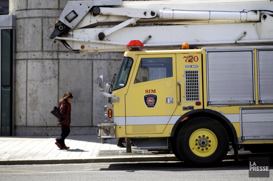 De nombreux pompiers syndiqués ont refusé une promotion.... (Photo d'archives, La Presse)
