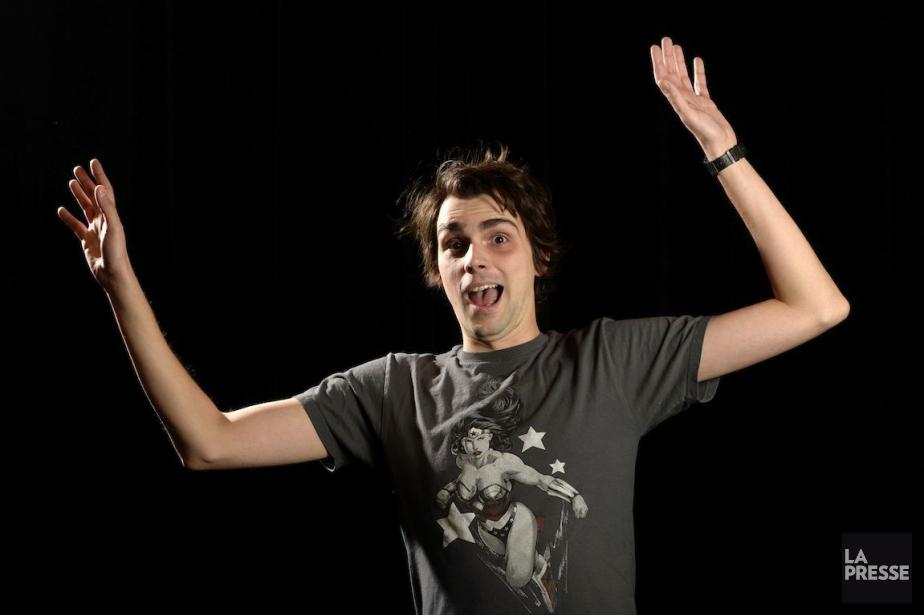 Jérémie Larouche, humoriste de31 ans.... (PHOTO BERNARD BRAULT, LA PRESSE)