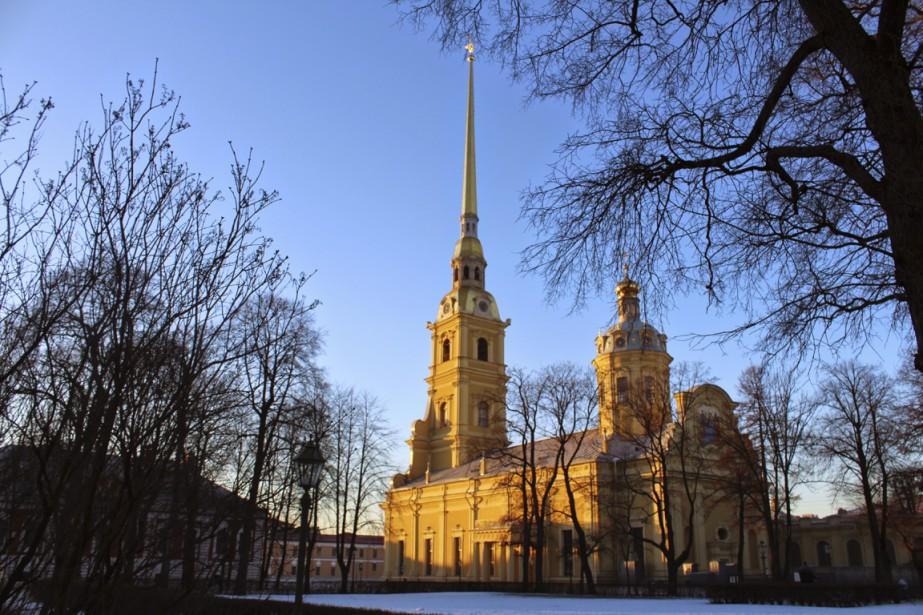 La cathédrale Pierre-et-Paul renferme les tombeaux de la plupart des Romanov depuis Pierre Le Grand. (Photo Étienne Bouche, collaboration spéciale)