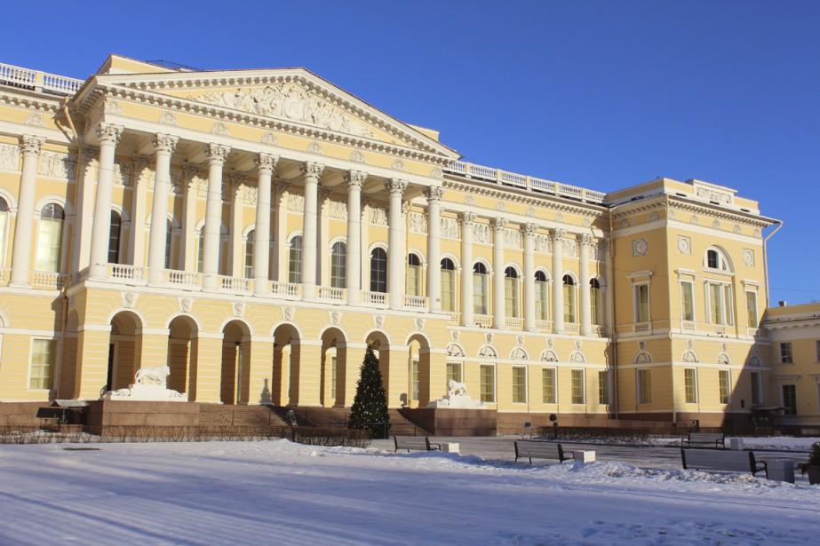 Le musée russe abrite les trésors de l'art national. (photo étienne