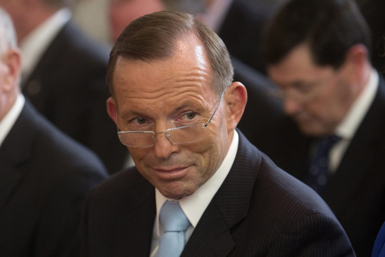 Tony Abbott... (Photo: AP)