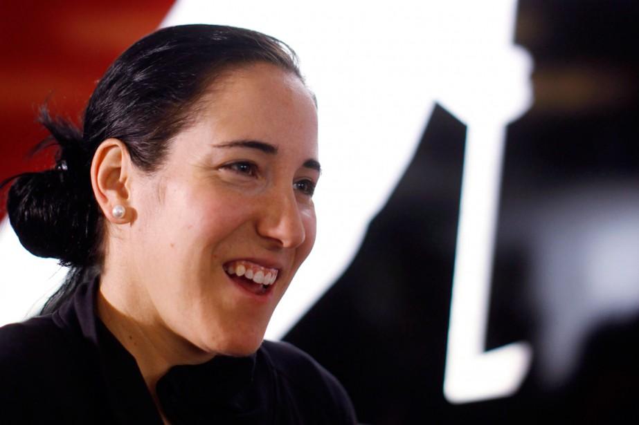 Caroline Ouellette... (PHOTO JEFF MCINTOSH, ARCHIVES PC)