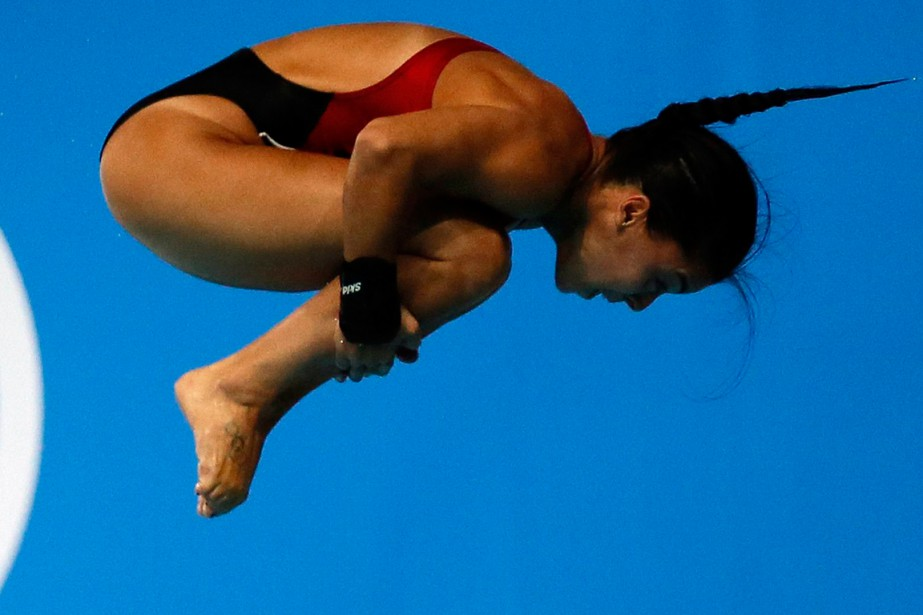 Meaghan Benfeito... (Photo Stefan Wermuth, archives Reuters)