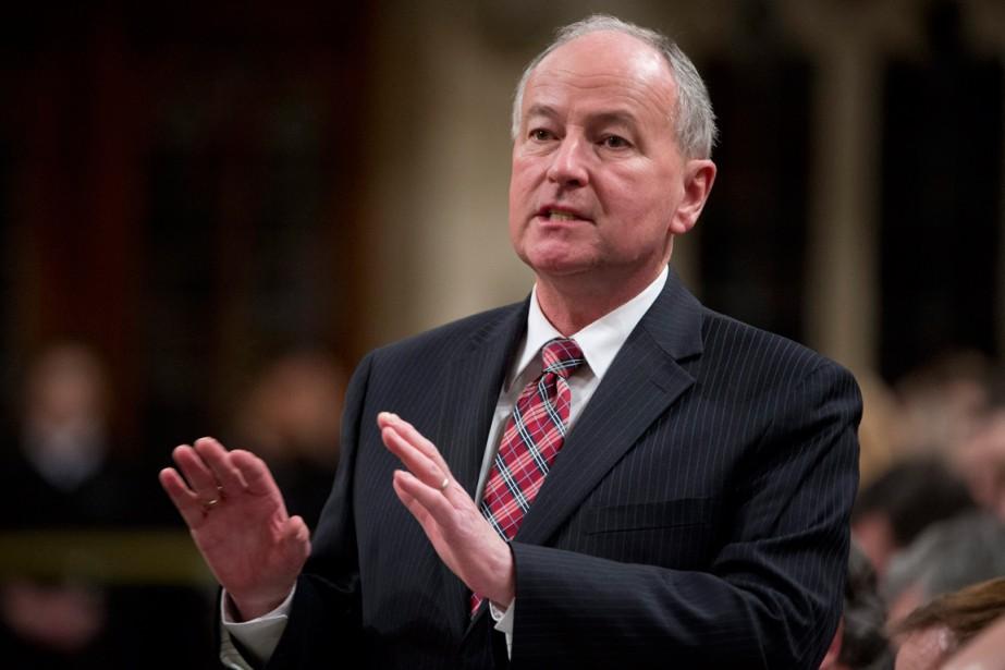 À Ottawa, le porte-parole du premier ministre Stephen... (PHOTO ADRIAN WYLD, ARCHIVES PC)
