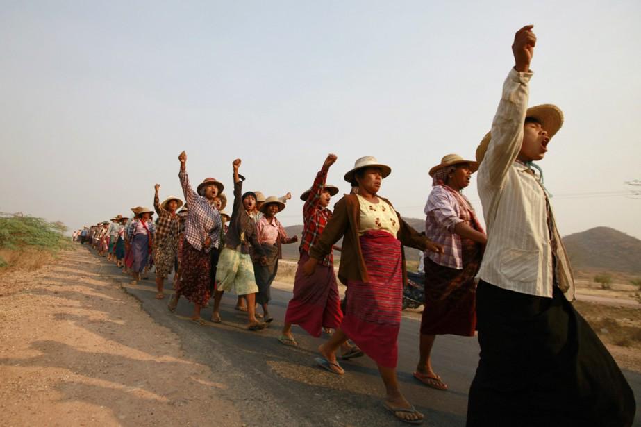 Selon Amnistie internationale, le gouvernement birman a procédé,... (PHOTO SOE ZEYA TUN, ARCHIVES REUTERS)