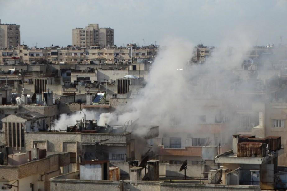 La Syrie a régulièrement critiqué la coalition conduite... (Photo archives Reuters)