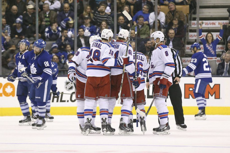 Mats Zuccarello a réussi le but déterminant avec 5:56 à... (Photo: Reuters)