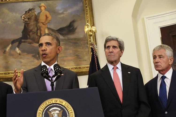 Barack Obama a livré mercredi après-midi une conférence... (Photo: AP)