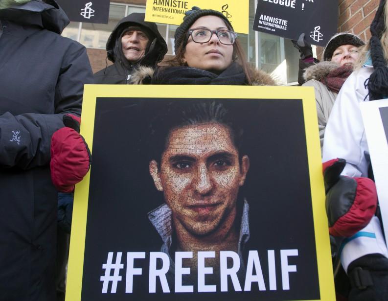 Le mouvement pour appeler l'Arabie saoudite à libérer... (Photo Ryan Remiorz, La Presse Canadienne)
