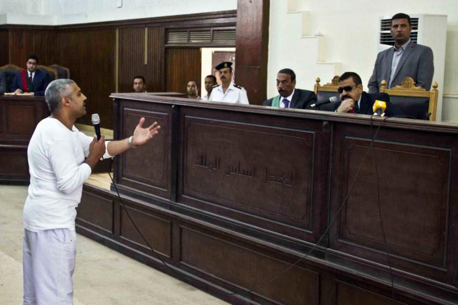 Mohamed Fahmy, qui avait la double citoyenneté canado-égyptienne,... (Photo Hamada Elrasam, Archives AP)