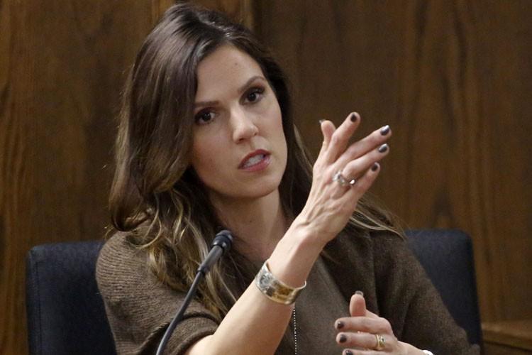 Taya Kyle, l'épouse de Chris Kyle, a été... (Photo: AP)