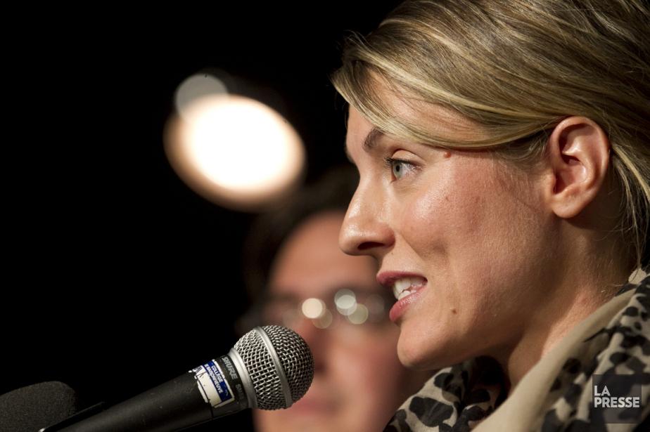 Mélanie Joly réfléchit à la possibilité de devenir... (PHOTO HUGO-SÉBASTIEN AUBERT, ARCHIVES LA PRESSE)