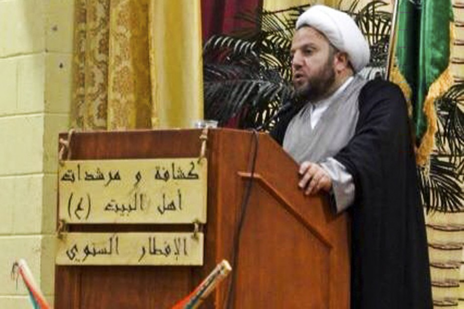 L'imam Ali Sbeiti au Centre communautaire musulman de... (PHOTO TIRÉE DE FACEBOOK)