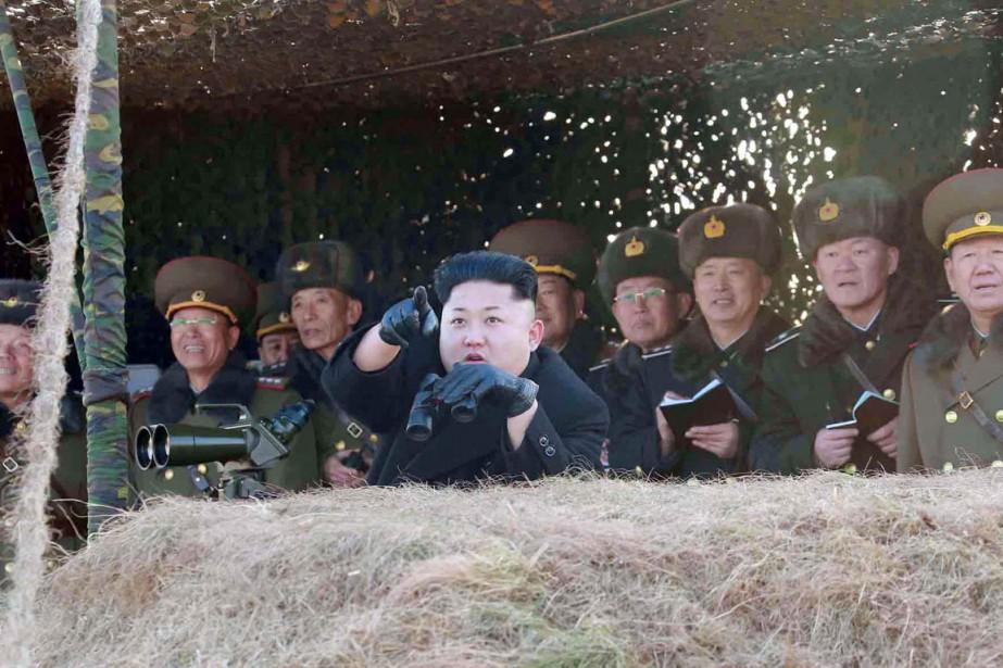 La liste fait la part belle aux slogans... (PHOTO ARCHIVES AFP/KCNA)