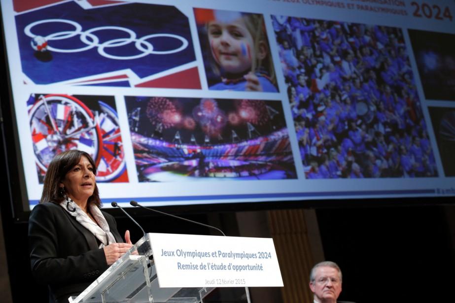 La mairesse de Paris, Anne Hidalgo.... (Photo Patrick Kovarik, AFP)