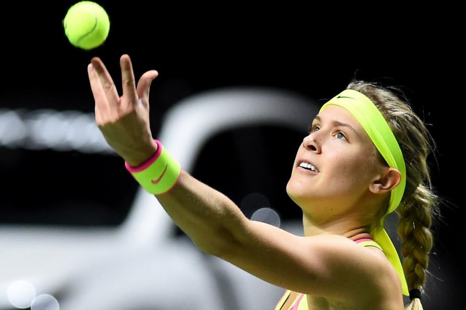 Eugenie Bouchard... (Photo Luc Claessen, AFP)