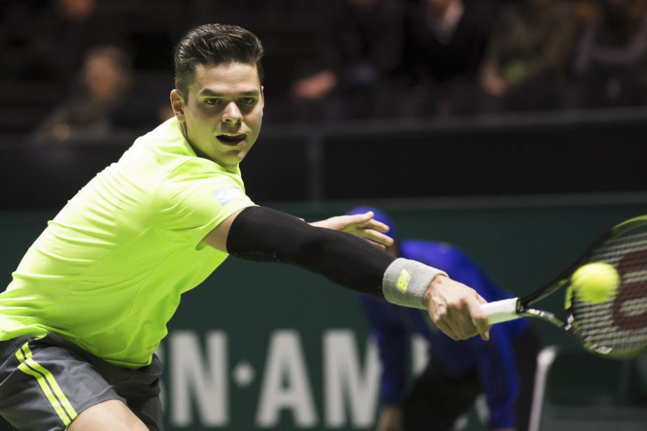 Milos Raonic... (PHOTO KOEN SUYK, AFP)