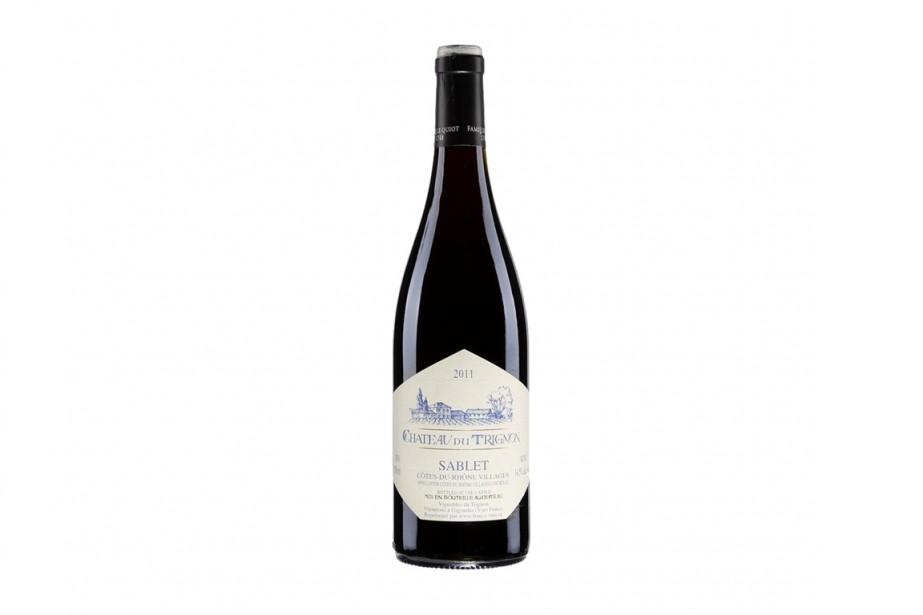 Beau vin rouge de la vallée du Rhône, passablement... (PHOTO FOURNIE PAR LA SAQ)