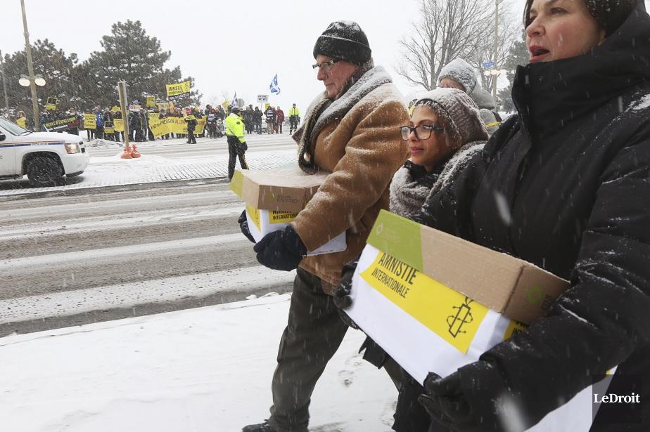 Plus de 15600messages concernant Raif Badawi sont parvenus... (PHOTO ÉTIENNE RANGER, ARCHIVES LEDROIT)