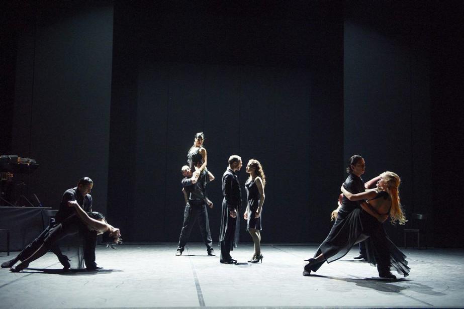M!longa,rencontre de dix stars internationales du tango et... (PHOTO TRISTRAM KENTON, FOURNIE PAR DANSE DANSE)
