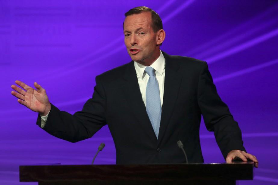 Le premier ministre Tony Abbott n'a pas donné... (Photo Andrew Meares, Reuters)