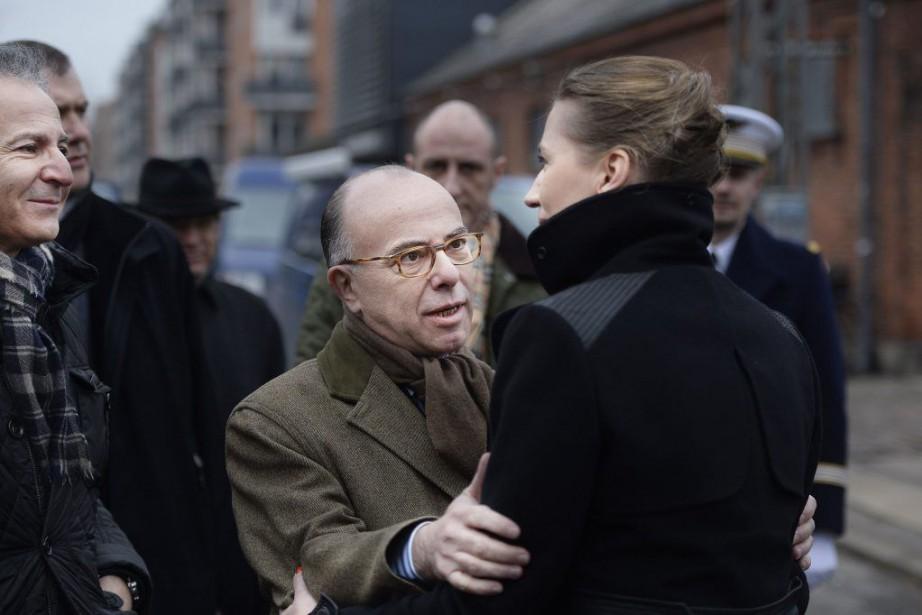 Le ministre français de l'Intérieur,Bernard Cazeneuve.... (Photo Liselotte Sabroe, Reuters)