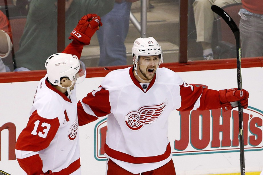 Tomas Tatar a jusqu'ici amassé 41 points, soit... (Photo Ross D. Franklin, archives AP)