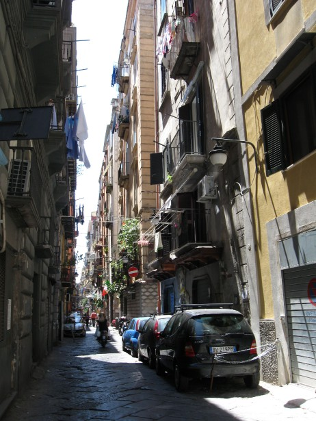 Les ruelles étroites du quartier Spagnola méritent une balade. (PHOTO MARIE TISON, LA PRESSE)