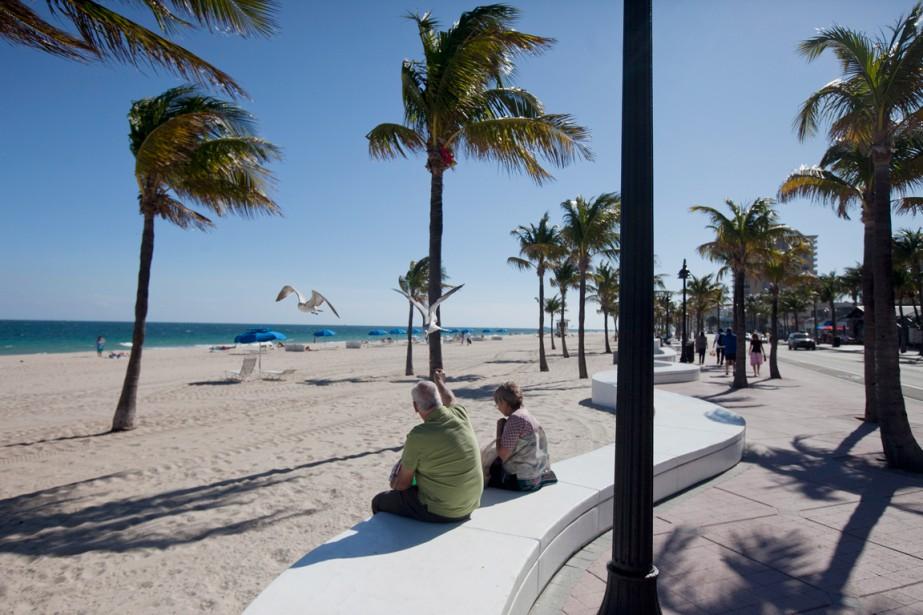 Selon des données colligées par l'organisme Visit Florida,... (PHOTO ANDREW HARRER, ARCHIVES BLOOMBERG)