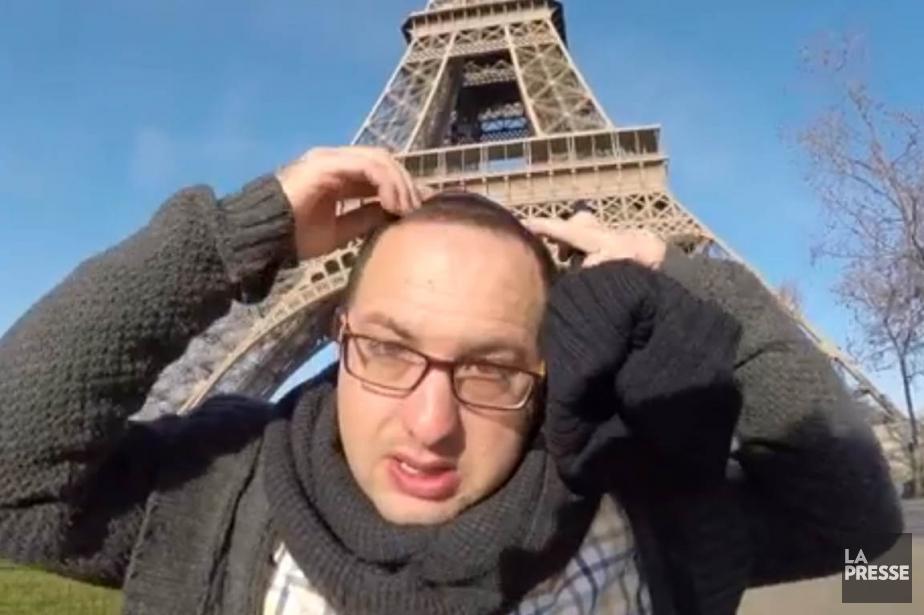 Dix heures dans les rues de Paris coiffé... (IMAGE TIRÉE DE LA VIDÉO DE NRG)