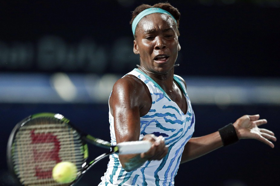 Venus Williams... (PHOTO AHMED JADALLAH, REUTERS)