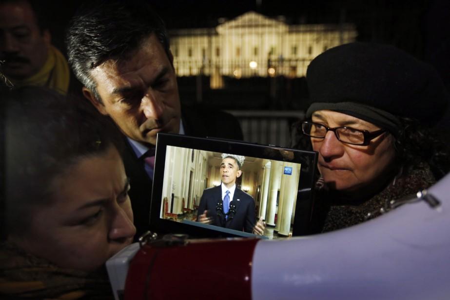 Selon lePost, l'ordonnance du juge vise à surseoir... (PHOTO ALEX BRANDON, ARCHIVES AP)