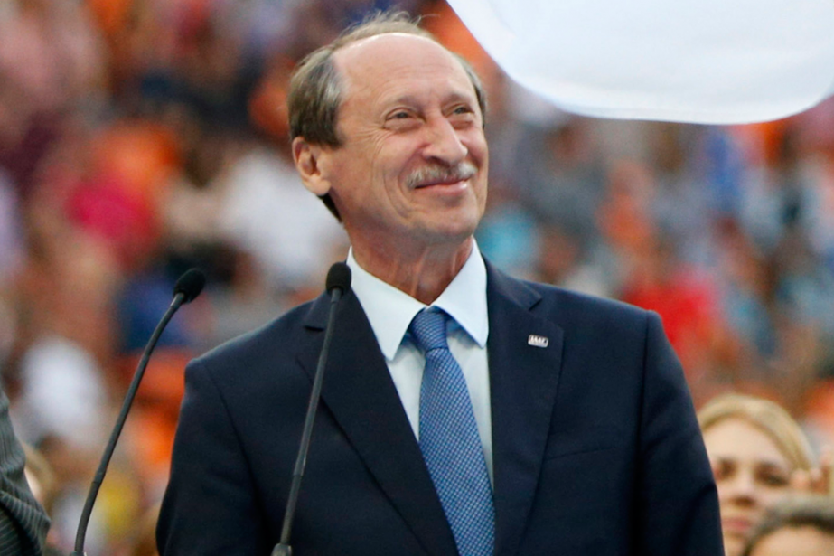 Le président de la Fédération russe d'athlétisme, Valentin... (Photo Alexander Zemlianichenko, archives AP)