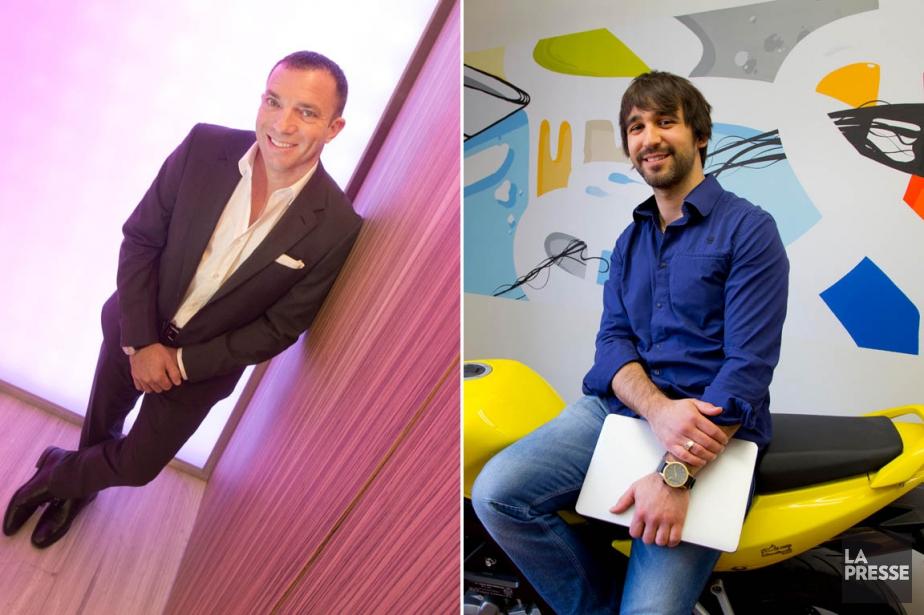 Mitch Garber et Martin-Luc Archambault.... (Photo: Ivanoh Demers et Alain Roberge, archives La Presse)