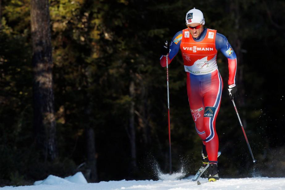 Le NorvégienPetter Northug a été sacré champion du... (Photo Alessandro Garofalo, Reuters)