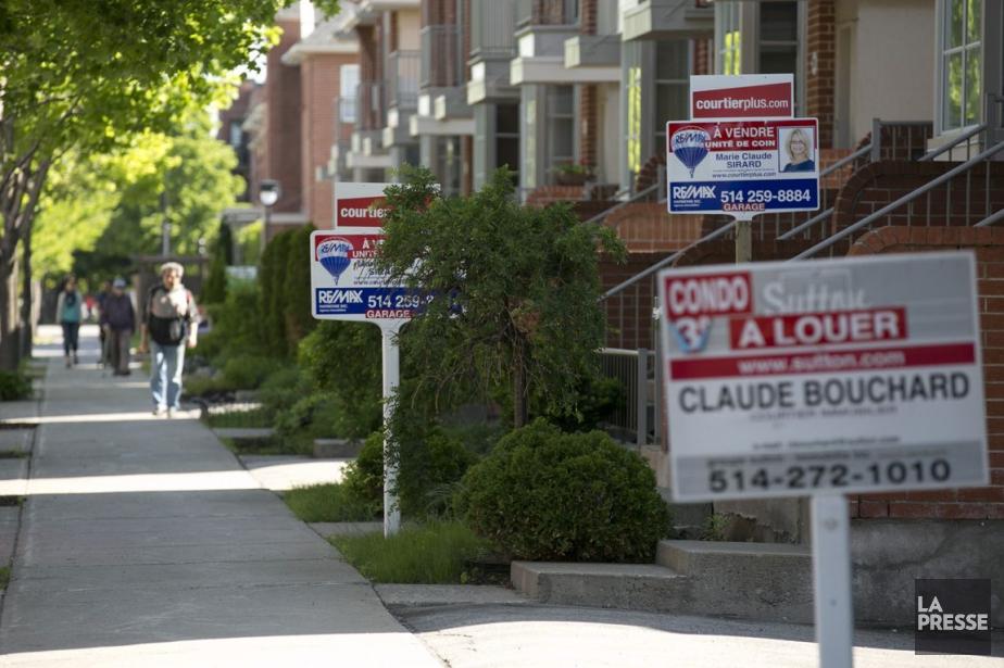 Les ventes d'habitations canadiennes... (PHOTO FRANÇOIS ROY, ARCHIVES LA PRESSE)