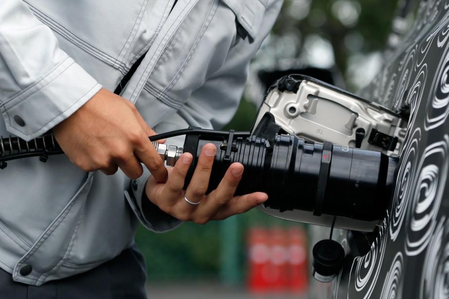 Le potentiel de la voiture à hydrogène ne... (Photo Kiyoshi Ota, archives Bloomberg)
