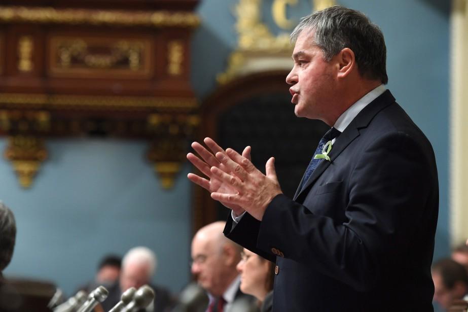 Le ministre de l'Éducation, Yves Bolduc... (Photo Jacques Boissinot, La Presse Canadienne)