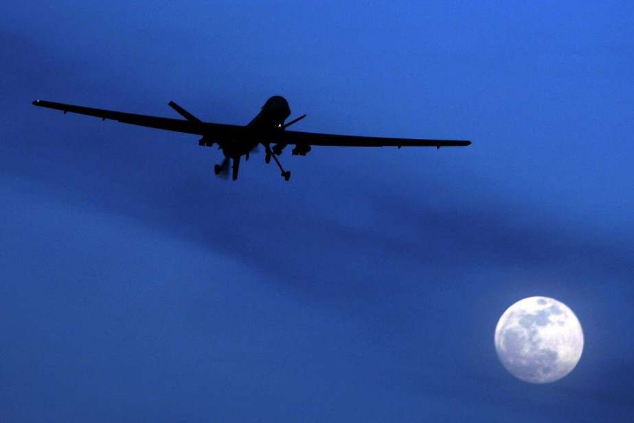 L'utilisation des drones armés constitue une pierre angulaire... (Photo Kirsty Wigglesworth, AP)